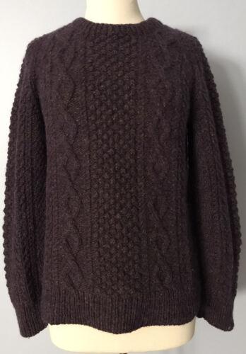 Aran Sweaters Irish Hand Knit Sweater Women's Size