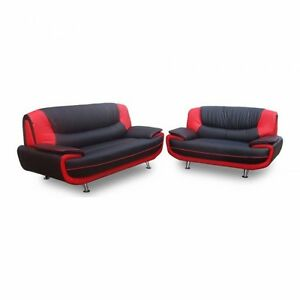 Image Is Loading Carol Faux Leather Sofa 3 2 Seater
