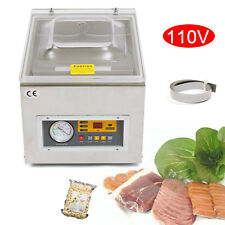 Table Top Chamber Vacuum Sealer Packing Sealing Machine 120w 110v Commercial