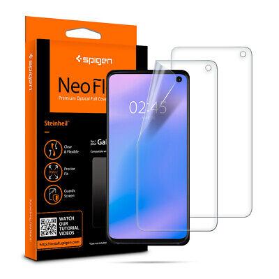 Galaxy S10, S10 Plus, S10e Spigen® [Neo Flex] TPU Flim Screen Protector [2PK]