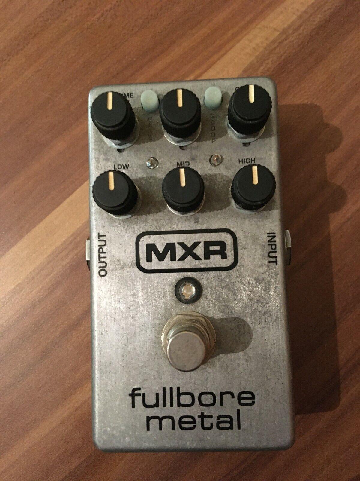 MXR M116 Fullbore Metal distortion Effektgerät für E-Gitarre