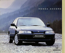 Honda Accord folleto 9/92 car brochure 1992 auto turismos folleto auto folleto