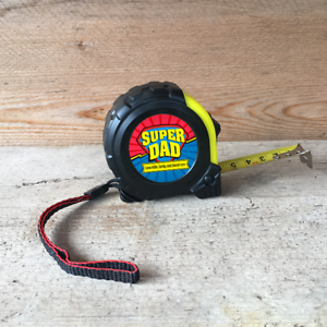 Personalised Tape Measure Father/'s Day Birthday Xmas Gift Superhero Super Dad