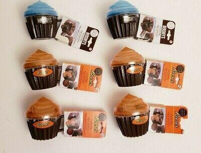 6 Mixed Hershey Reeses Chocolate Microwave Lava Cake Cupcake Maker Blue Orange Ebay