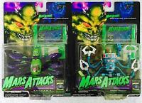 Vintage Trendmasters Mars Attacks Sadaama Martian Spider & Doom Robot 1996