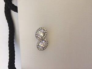Pandora Women Silver Stud Earrings - 296247CZ 825488