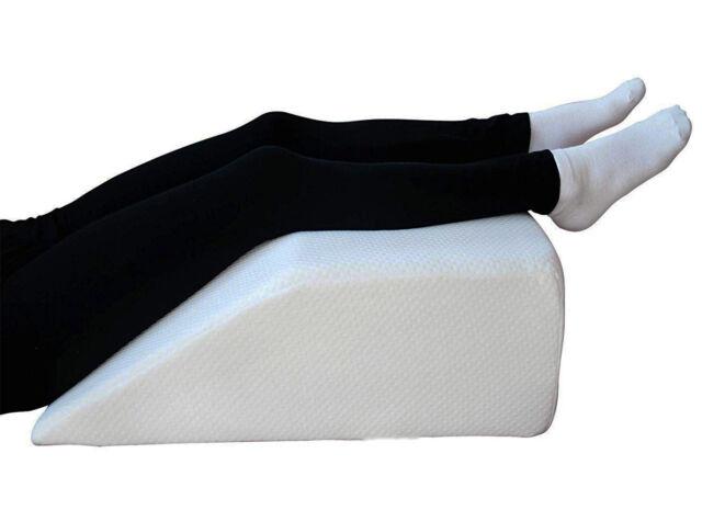Memory Foam Leg Raiser Knee Pillow Foot Rest Wedge Swollen Legs Support Ol16