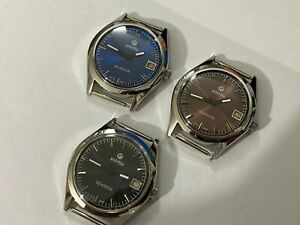 LOT-OF-3-X-STUNNING-Roamer-Manual-Wind-Gents-Mens-WATCHES-Mint-RM-10