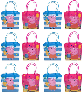 30 pcs peppa pig goodie bags birthday gift loot goody gift candy bag
