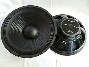 38cm-15-034-PA-Bass-Lautsprecher-380mm-Tieftoener-SoundLab-L042Q-Subwoofer-Schnapper