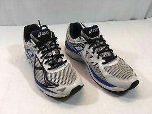 ASICS-Men-s-GT-2000-Running-Shoe-Sneakers-T500N-Size-11-Blue-White-Silver