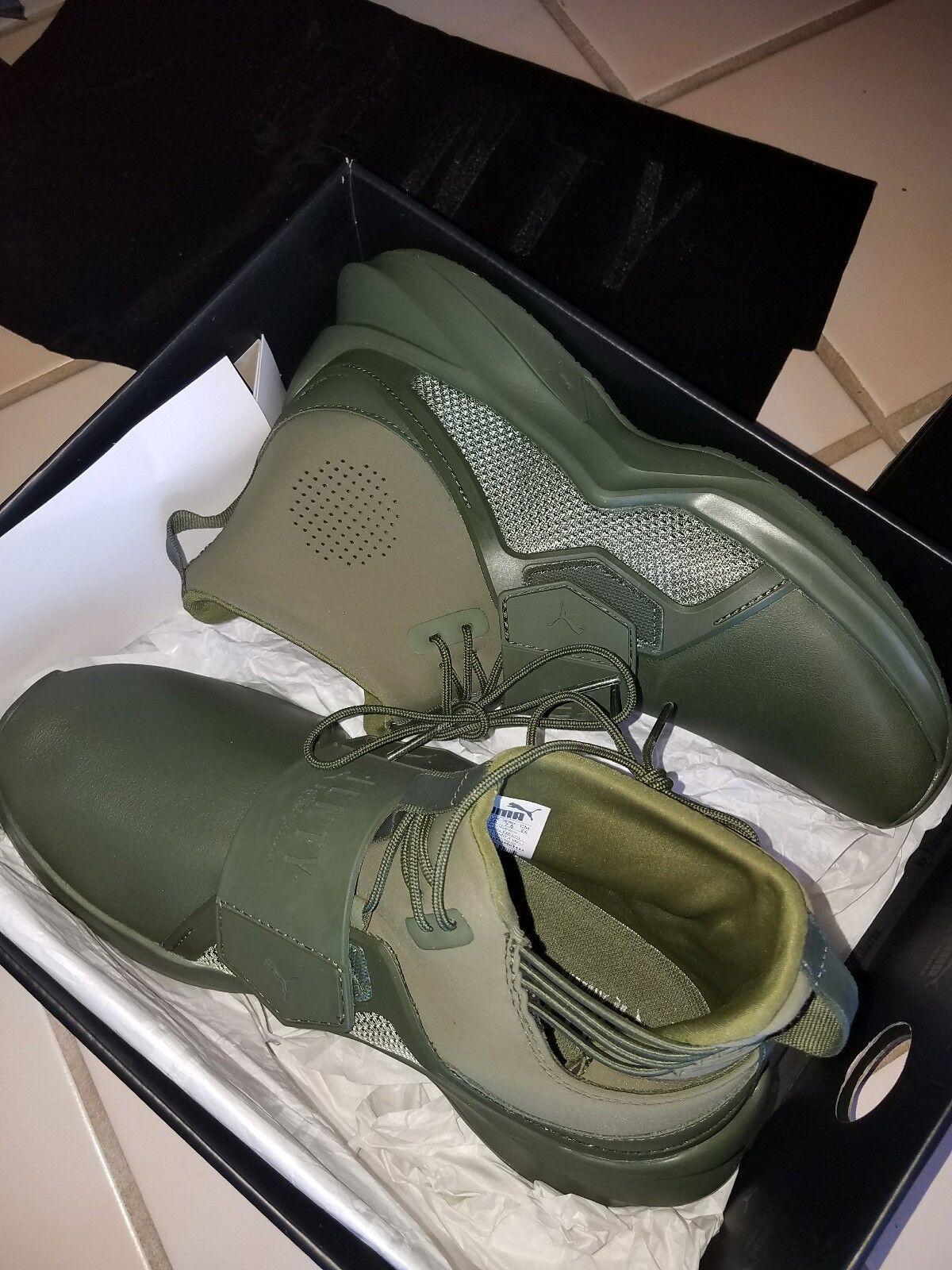 Nuove donne puma verde x fenty trainer cypress verde puma oliva rihanna sz 7,5 scarpe da tennis ab69b0