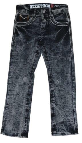 Big Boys/' Denim Jeans Pants Washed Sand Blasted Sizes 8 to 18 BHSJ-11