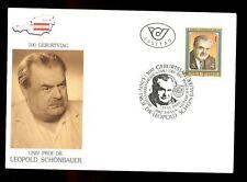 Austria 1988 Dr. Leopold Schonbauer FDC #C2942