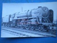PHOTO  BR RIDDLES BRITANNIA 4-6-2 70001 LORD HURCOMB