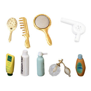 MagiDeal-Dolls-House-Miniature-Shampoo-Bath-Toiletries-Set-Shower-Accessory