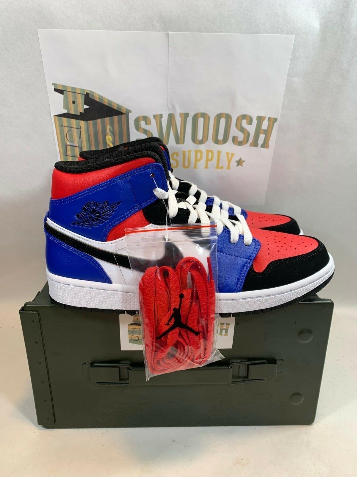 451e0bbdfdee Nike Nike Nike Air Jordan 1 Mid Top 3 Size U.S. Men s 8 - 9.5 554724 ...
