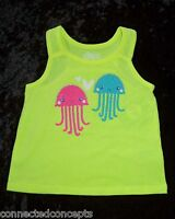 Cute Jellyfish Infant/toddler Summer Tank T-shirt (sizes 18 Months - 5t)