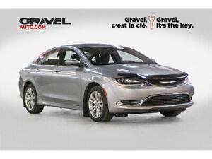 2015 Chrysler 200 LIMITED + CAM RECUL + SIEGES CHAUF + 8 PNEUS