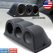 Universal Car 52mm 2 Triple 3 Hole Gauge Pod Meter Holder Dashboard Dash Cup Us