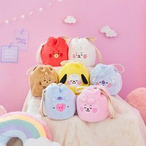 NEW Cute Bangtan Boys BTS BT21  Rabbit Bag Handbags Fashion Plush Kpop Gift 30CM