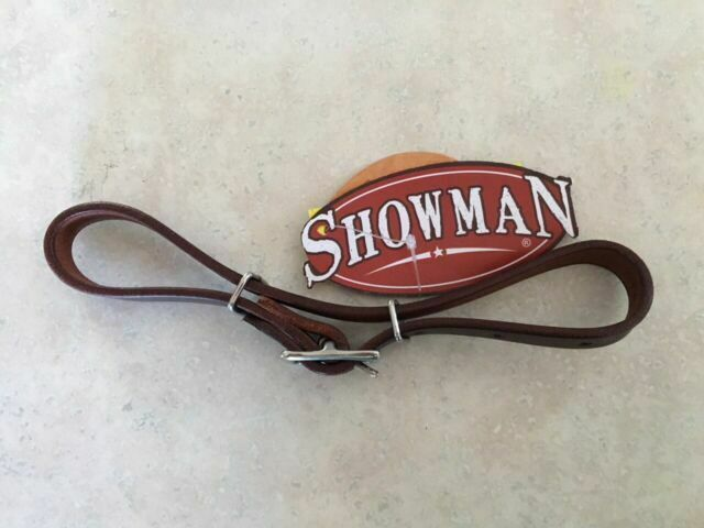 Showman Heavy Harness Leather Leather Adjustable Curb Strap New Horse Tack