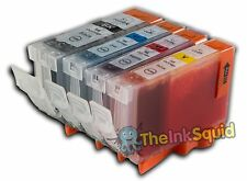 4 Canon PGI-5 CLI-8 Compatible Ink Cartridges PGI-5Bk