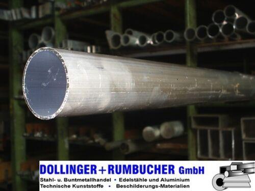 Rundrohr Ø 55 x 2 mm *Länge bitte auswählen* Aluminium Rohr Aluminiumrohr Alu