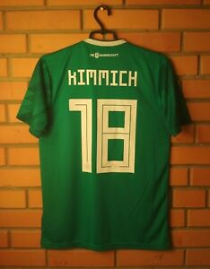 Germany Kimmich Jersey 2018 2019 Away SMALL Shirt Adidas Football Soccer Trikot