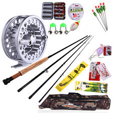 Fly Fishing Combos Saltwater Fishing Rod Reel Lure Lines Fly Fishing Tackle Kit