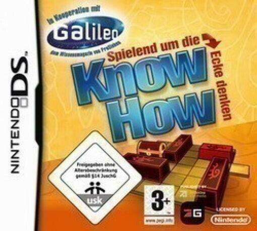 Nintendo DS jeu - Know How dans l'emballage utilisé