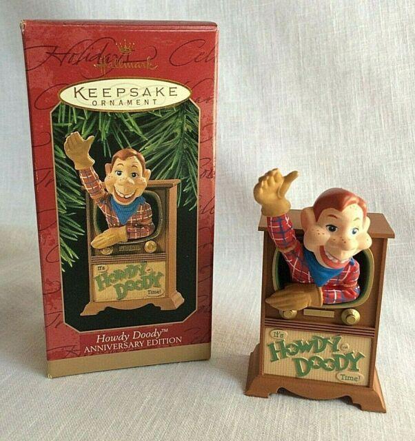 1997 Hallmark Keepsake Christmas Ornament Howdy Doody 50th Anniversary New