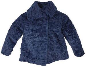 NUOVO-DIESEL-KIDS-RRP-219-di-marca-jammi-Giacca-Ragazze-Fur-Giacca-Cappotto-Eta-14-anni