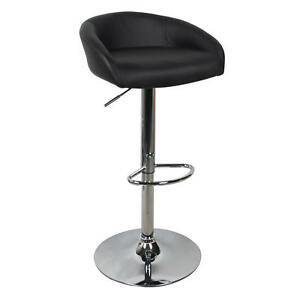 Moustache-Adjustable-Height-Swivel-Bar-Stool-Contemporary-Style-Black