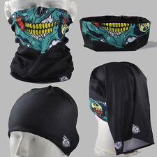 BUY 2 GET 1 FREE! Zombie Mouth AA029 Multiple wear Seamless Scarf Mask Cycling
