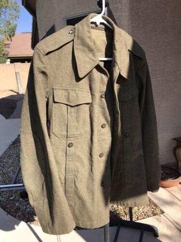 vintage wool military jacket