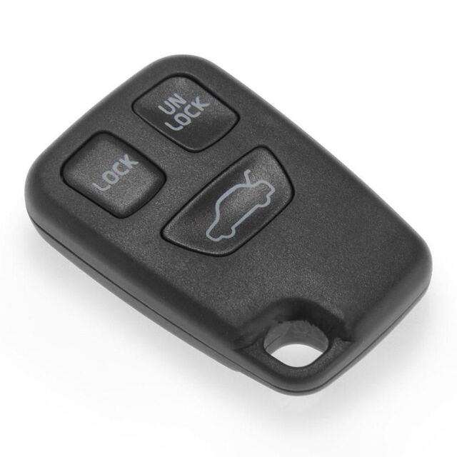 3-Botón remoto FOB caso de Shell cubierta de Volvo XC70 XC90 S40 S60 v40 V70