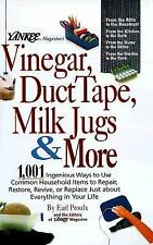 Yankee Magazine's Vinegar, Duct Tape, Milk Jugs & More