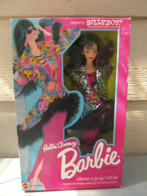 Feelin' Groovy Barbie LE 1986 by Billy Boy - NIB