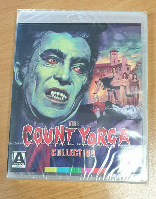 The Count Yorga Collection - Arrow Video Blu Ray - New And Sealed