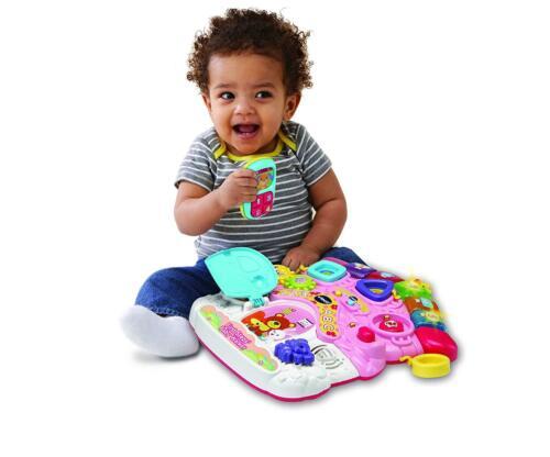 Vtech First Steps Walker Baby Walk Push Along Toddler Walkers Stroller Girl Pink