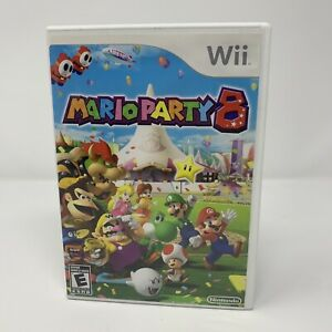 Mario Party 8 Nintendo Wii Game Complete With Manual Tested