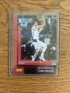2019-20-Panini-Instant-Playoffs-167-LUKA-DONCIC-sp-1-255-Game-2-Magic-RECORD