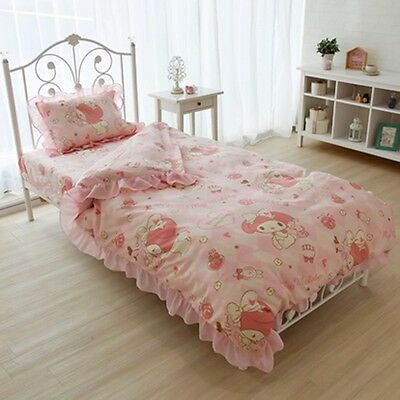 From Japan My melody Bedding set Cover and Pillow case Kawaii SANRIO