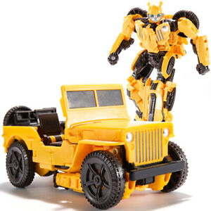Bumblebee Jeep Autobot IDW 8inch Action Figure Deformable Robot Child Kids Toy