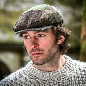 Irish Flat Cap Traditional - Men s Kerry Patch Irish Tweed Hat ... 493fc20bcb7