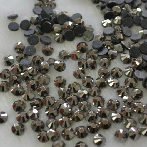 SS6-SS30 32 Colores de cristal de Hierro en Hotfix Pedrería Hot Fix Flatback Piedra #3