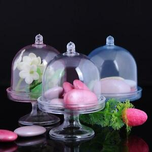12PCS-DIY-Clear-Mini-Cake-Stand-Birthday-Wedding-Shower-Party-Gift-Favors