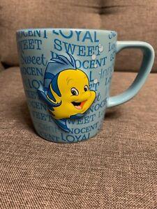 MUG-Cup-Little-Mermaid-Petite-Sirene-Polochon-Disneyland-Californie-Flounder