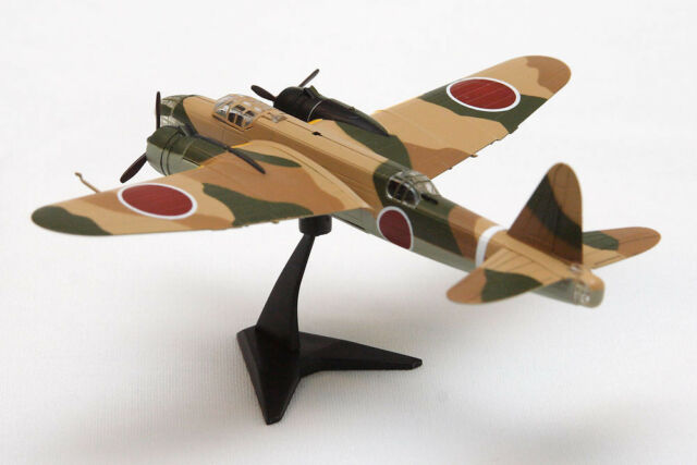 F-Toys Twin Engine Aircraft 3 #1a camo tan Japan Nakajima Ki-49 prepainted model